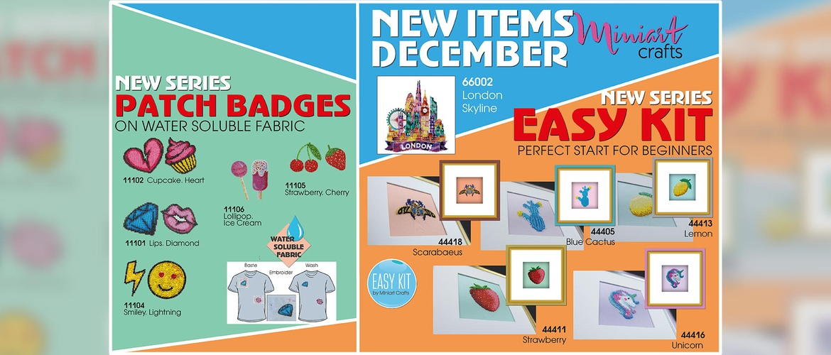 Miniart Crafts - New Items December 2019