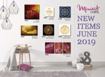 New Miniart Crafts Embroidery Kits are Available: June 2019